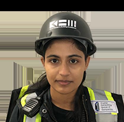 Jasmeen Nirwal<br>Construction Safety Officer